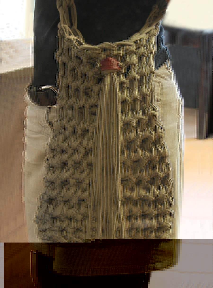 Shopper Selber Häkeln Aus Textilo Stripe Garn