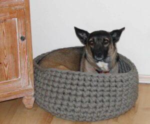Hundekorb aus Textios