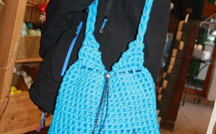 Textilo Häkelhandtasche eine Kundenarbeit