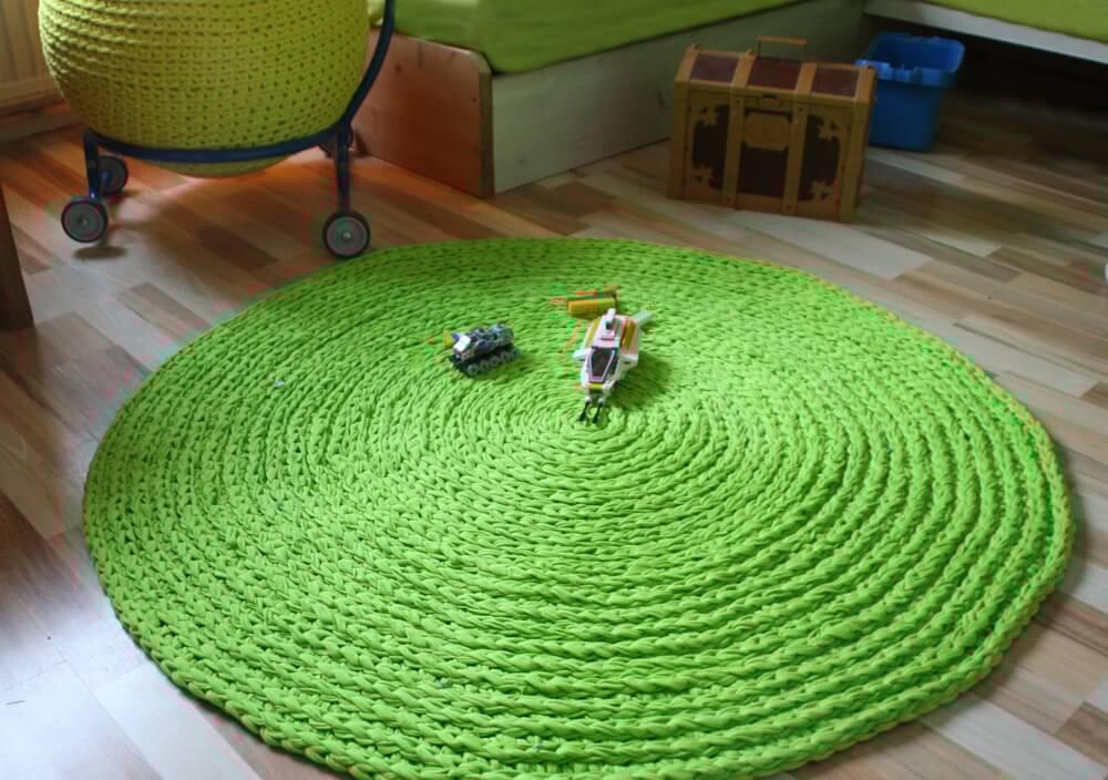 teppich hkeln rund amazing wolle teppich hkeln runden. Black Bedroom Furniture Sets. Home Design Ideas