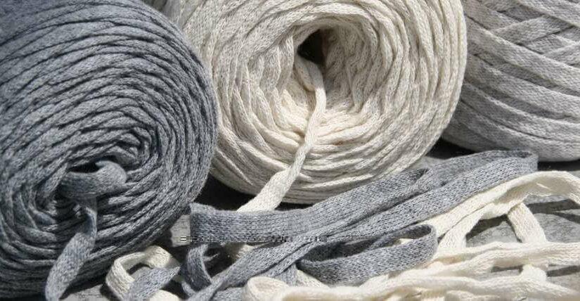 Bändchengarn XL- das Baumwoll-Strickband