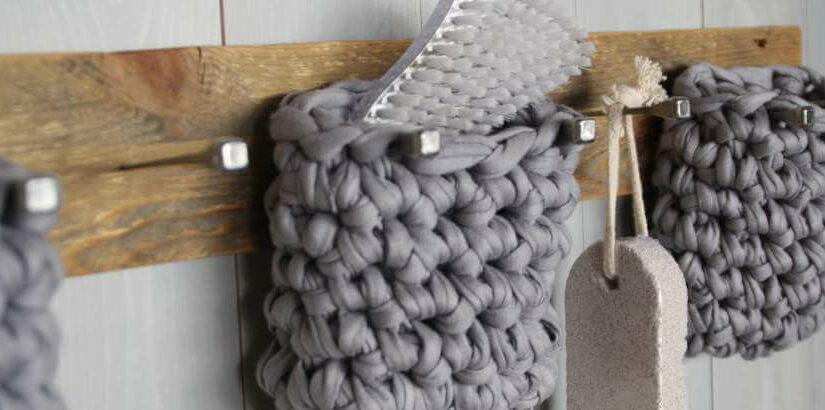 Palettenholz & Textilgarn