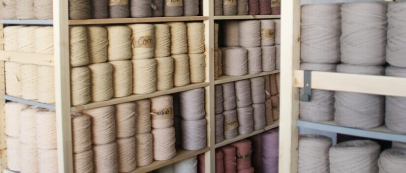 Textilgarn – en masse