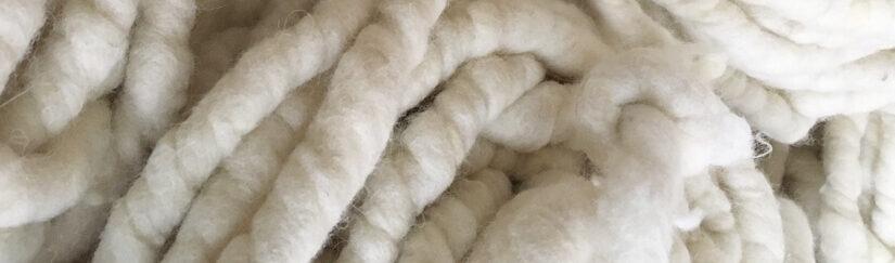 Häkelteppich aus Filzseil