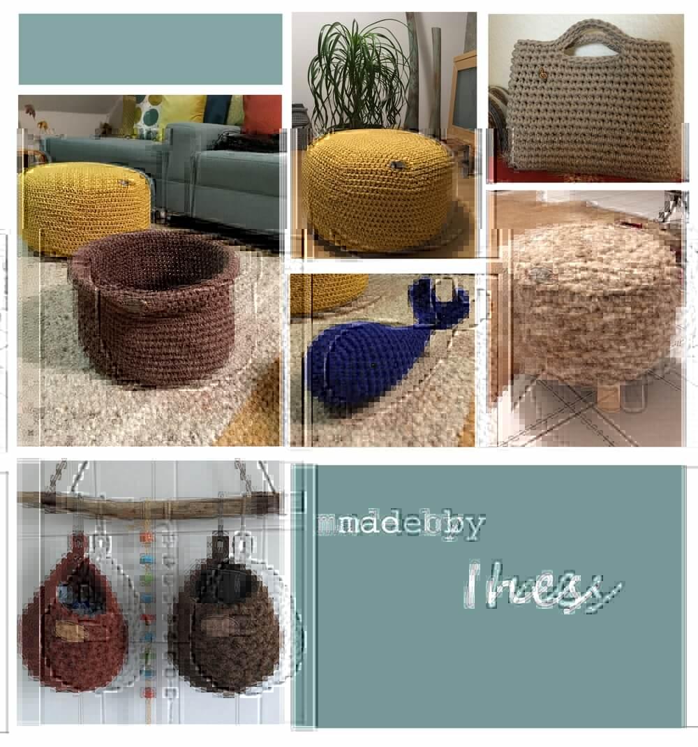 Textilo und Wollschnurprojekte von Ines