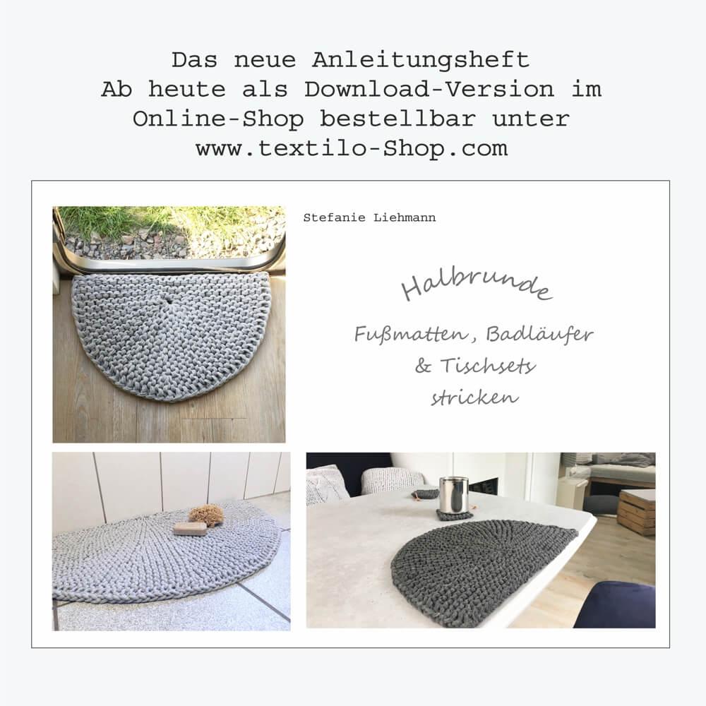 DIY-Anleitungen Halbkreise stricken