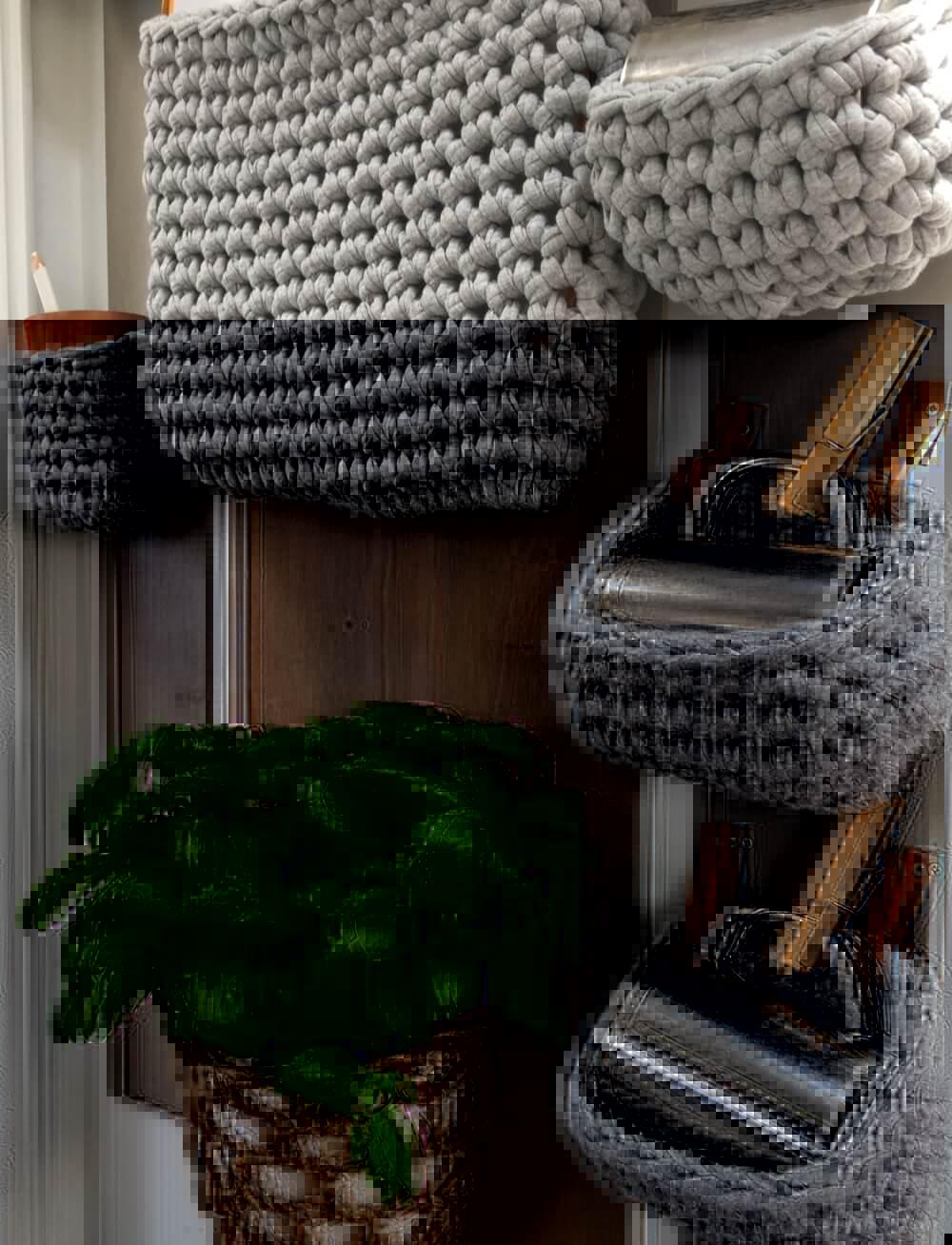 Textilgarn Wandutensilos