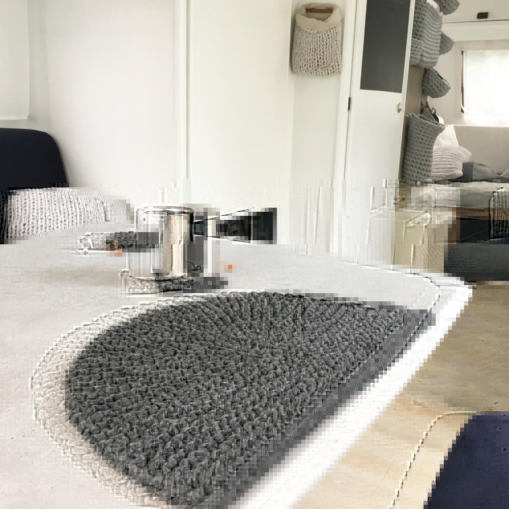 Tischset aus Bändchengarn XL extrabreit