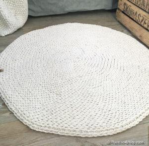 Teppich aus Kordelgarn 7