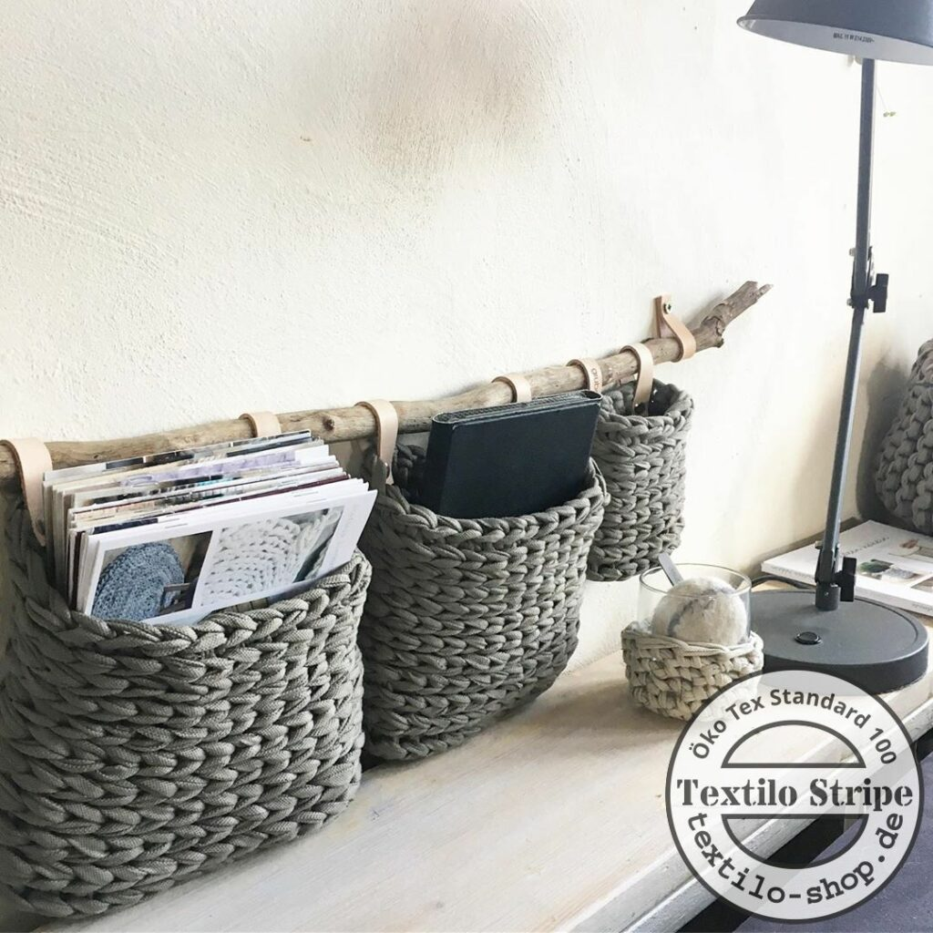 Textilgarn recyling- Original Textilo Stripes