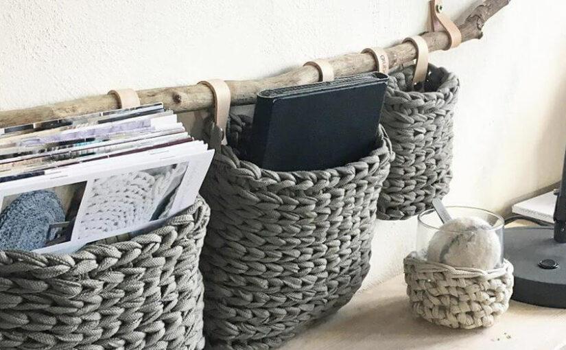 Textilgarn recyling: Original Textilo Stripe Textilgarn