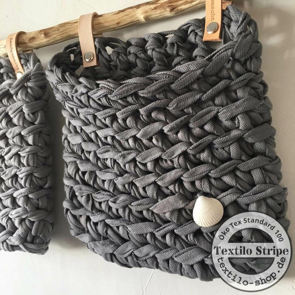 Textilgarn recyling-Original Textilo-stripes Detail 2
