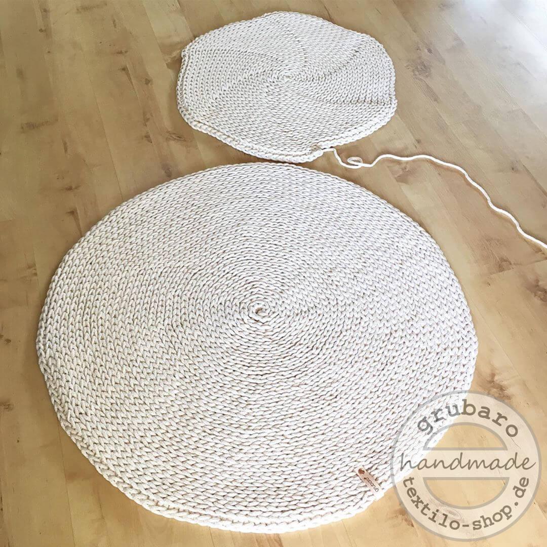 runder haekelteppich aus Kordel (1)