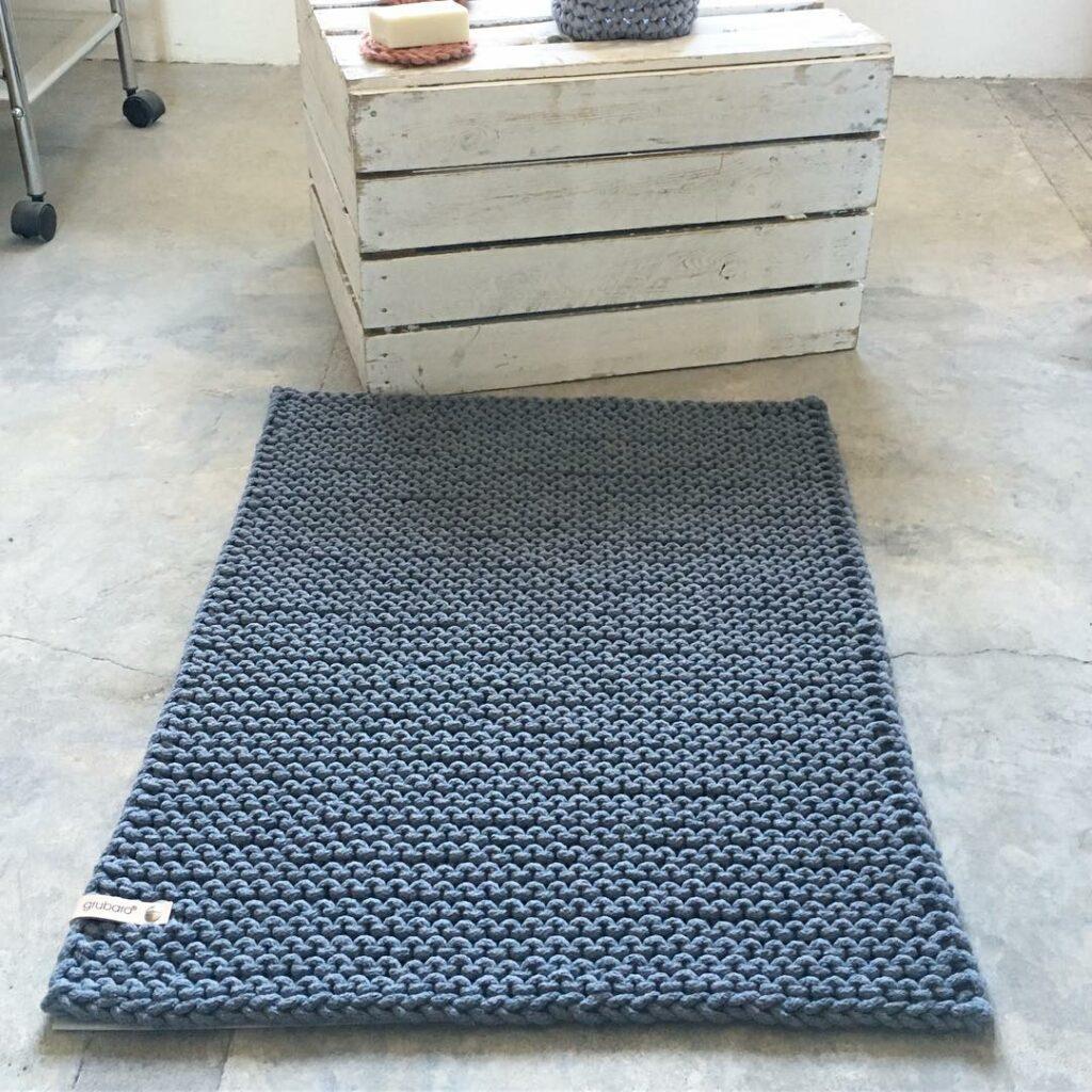 Badteppich- Badmatte aus Kordel L (1)