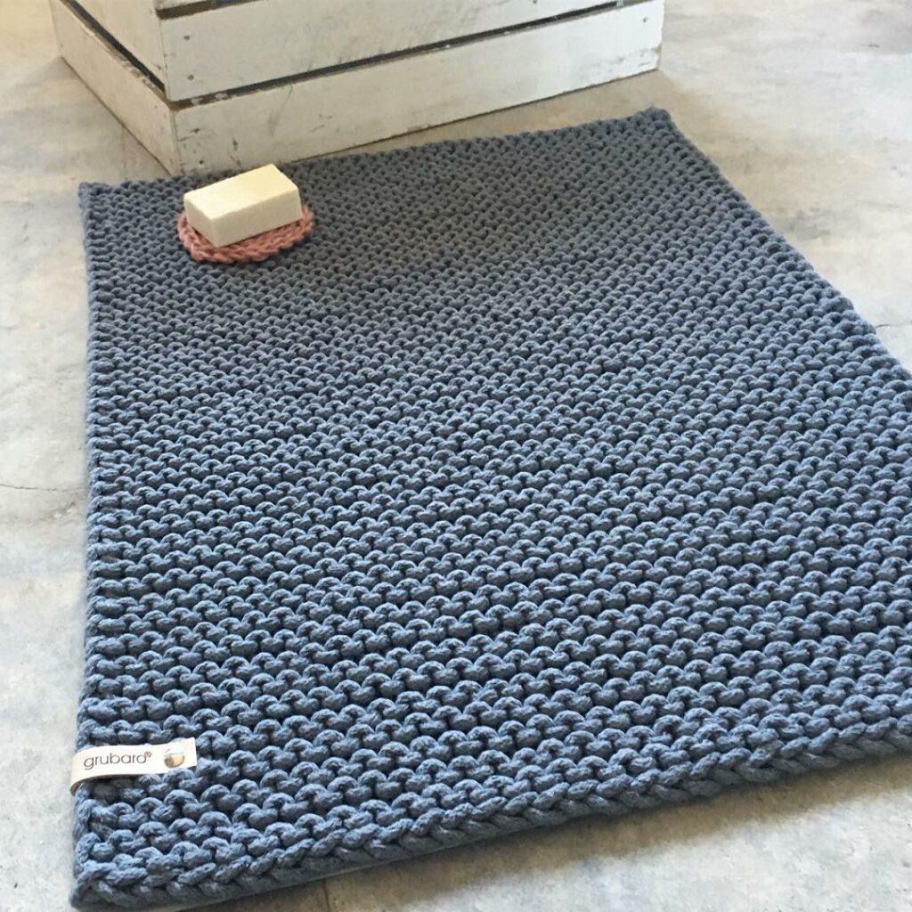 Badteppich- Badmatte aus Kordel L (3)
